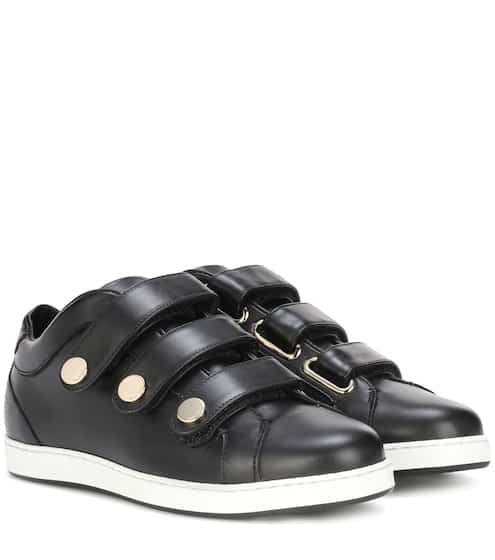 Jimmy Choo Sneakers aus Leder