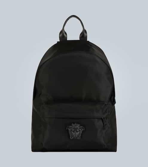 베르사체 Versace Medusa head nylon backpack