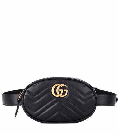 511f6139cbb4 Gucci Marmont Leather Belt Bag from mytheresa - Styhunt
