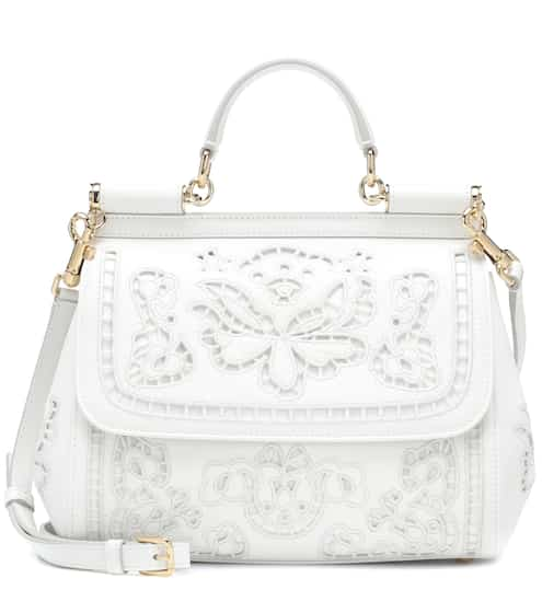 11861ce833ff7c Sicily Medium leather shoulder bag | Dolce & Gabbana. Dolce & Gabbana