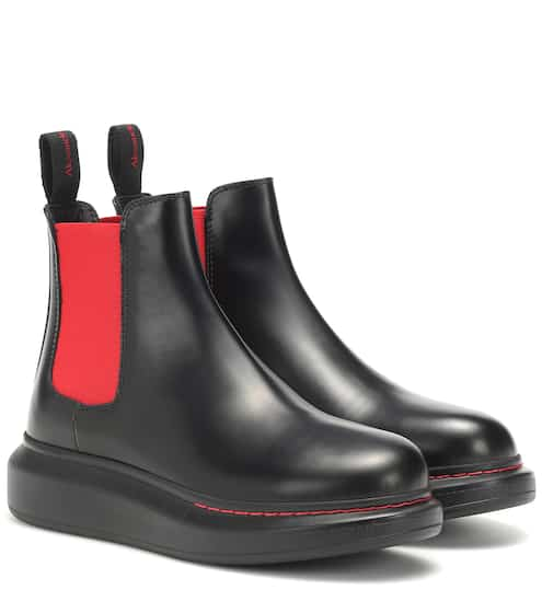 96da0a88246660 Leather Chelsea ankle boots | Alexander McQueen