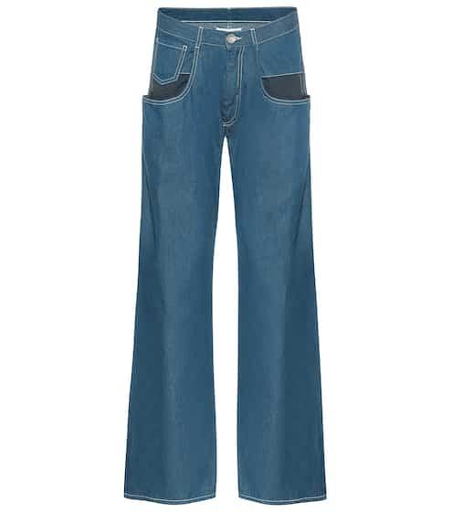 메종 마르지엘라 Maison Margiela Mid-rise wide-leg jeans