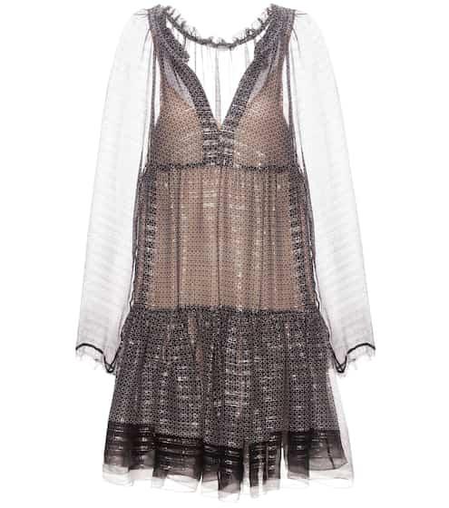 Stella McCartney Kleid aus Seiden-Chiffon