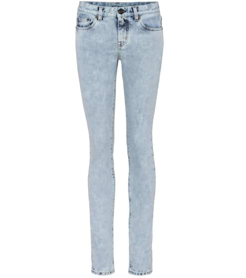 Saint Laurent Skinny Jeans aus Stretchdenim