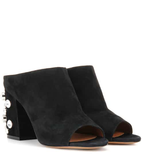 Givenchy Mules Paris aus Veloursleder