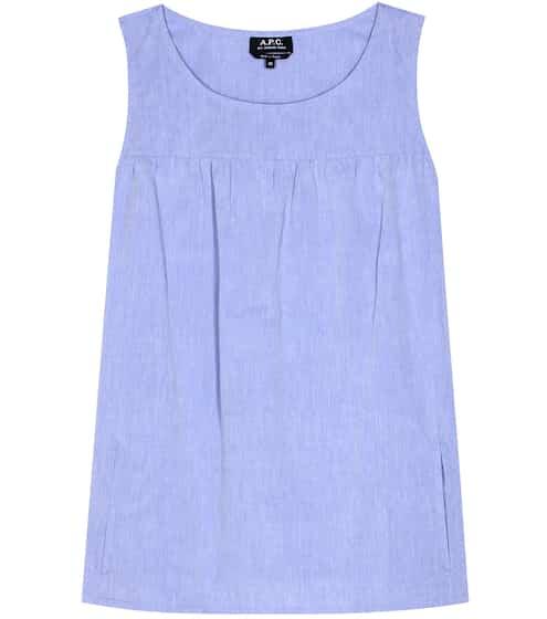 A.P.C. Sleeveless cotton top