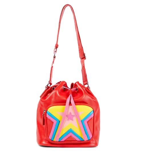 스텔라 맥카트니 키즈 버킷백 STELLA McCARTNEY Kids Faux leather bucket bag