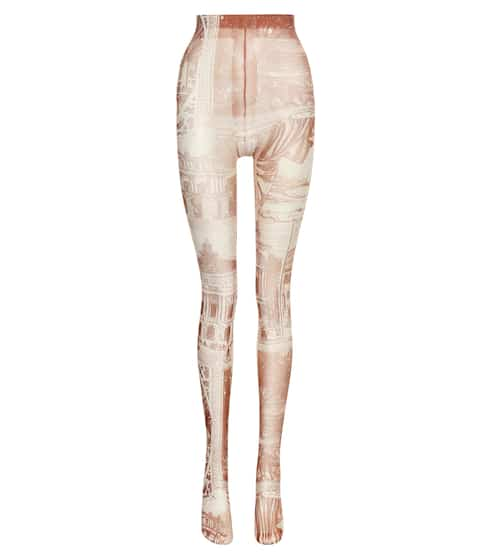 아크네 스튜디오 Acne Studios Printed tights