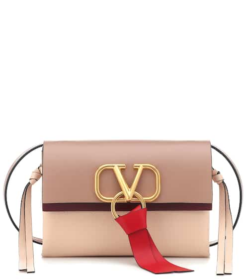 5365f9acdd Valentino Garavani VRING Small leather shoulder bag | Valentino