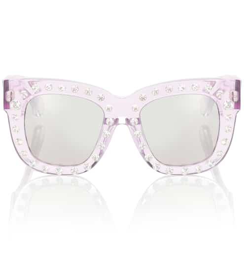아크네 스튜디오 Acne Studios Library embellished sunglasses