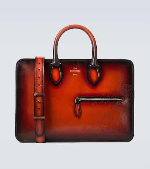 벨루티 엉 쥬르 서류가방 미니 Berluti Un Jour mini leather briefcase
