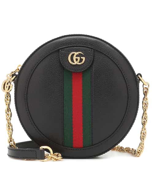 3a899d6ce4e1a Ophidia Mini leather shoulder bag
