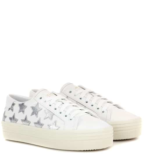 Saint Laurent Sneakers Court Classic SL/39 aus Leder