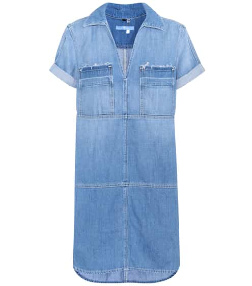 7 For All Mankind Kleid Popover aus Chambray