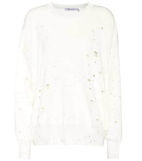 T by Alexander Wang Distressed Pullover