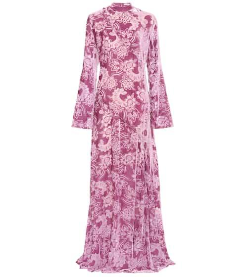 Erdem Exklusiv bei mytheresa.com – Kleid aus Devoré-Samt
