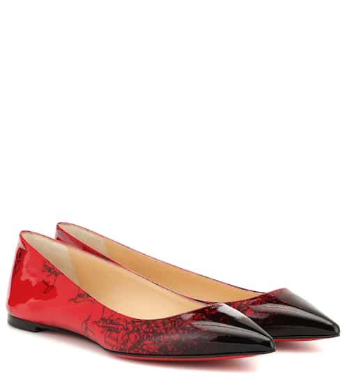 2b5cc277af58 Exclusive to Mytheresa – Ballalla patent leather ballet flats