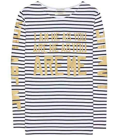 Each x Other Printed striped shirt