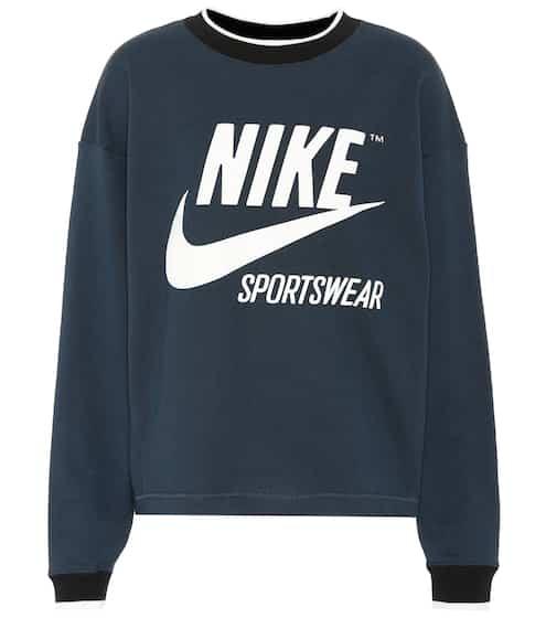 Nike Sweatshirt Crew Archive aus Baumwolle