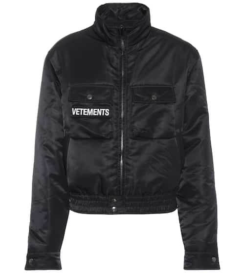 Vetements Bomberjacke Police Woman