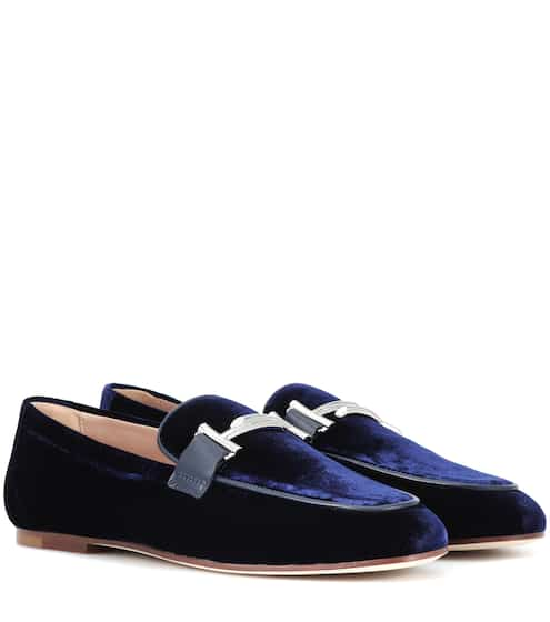 a4c8a7e2d19 Exclusive to Mytheresa – Double T velvet loafers