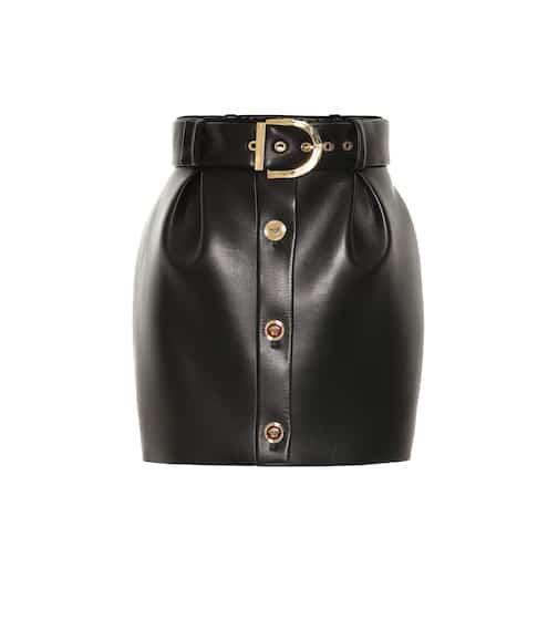 5687f45b21 Jupes en cuir de Luxe pour Femme | En ligne sur Mytheresa