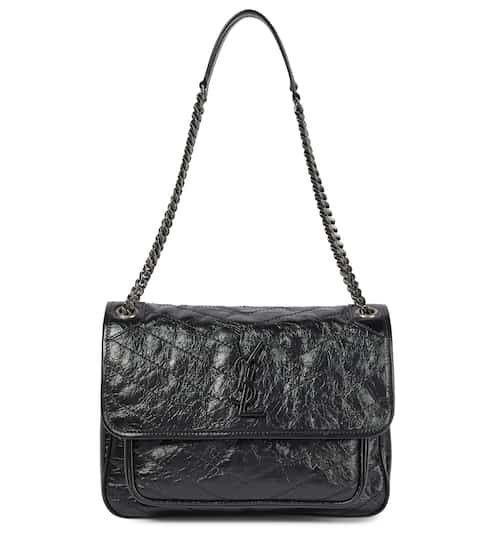 deb557f9a Medium Niki Monogram leather shoulder bag | Saint Laurent. Saint Laurent