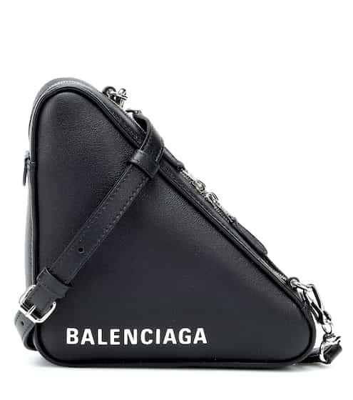 3ce4ac3638 Sac à bandoulière Triangle S en cuir | Balenciaga