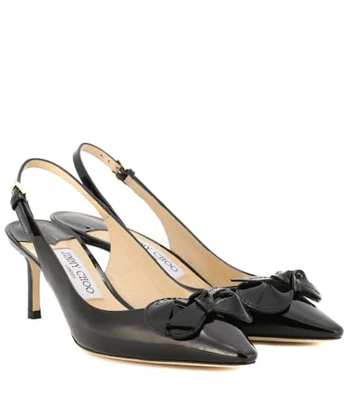 Jimmy Choo Pumps Blare 60 aus Lackleder