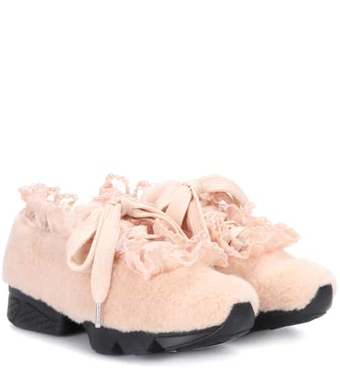 Ganni X Shrimps Sneakers Fergus Seashell