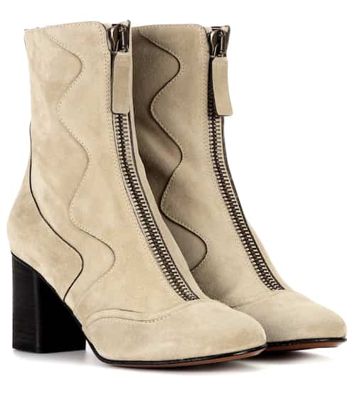 Exclusivité mytheresa.com - Bottines en cuirChloé rzEKfjP