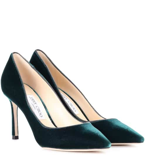Jimmy Choo Pumps aus Samt