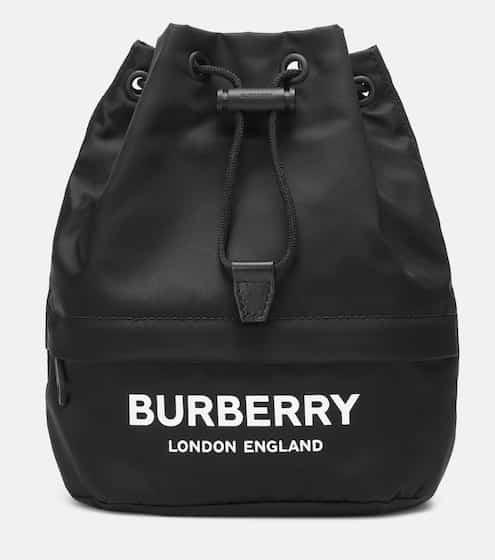 21 PRE FALL 버버리 피비(포이베) 파우치 - 블랙 Burberry Phoebe nylon drawstring pouch