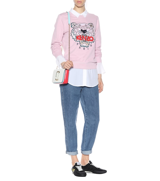 Kenzo - Tiger Logo cotton sweatshirt - mytheresa.com