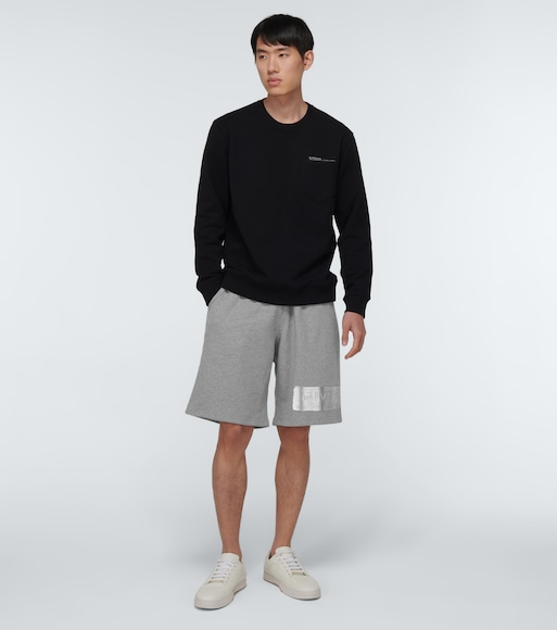 Givenchy - Cotton logo sweatshorts - mytheresa.com