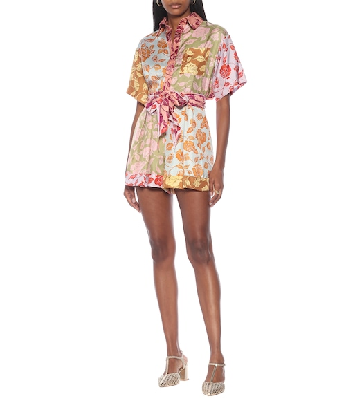 Zimmermann - Lovestruck floral silk shirt - mytheresa.com