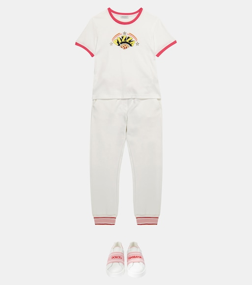 Dolce & Gabbana Kids - Pizza cotton T-shirt - mytheresa.com