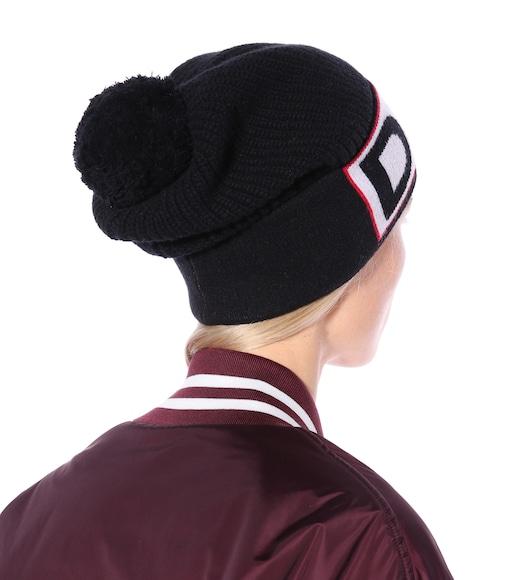 Knitted wool-blend hat Dolce & Gabbana 8kdwDv