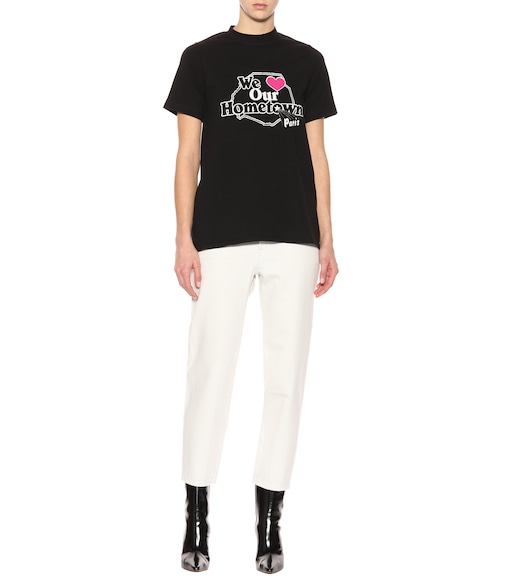 Vetements - T-shirt en coton imprimé - mytheresa.com
