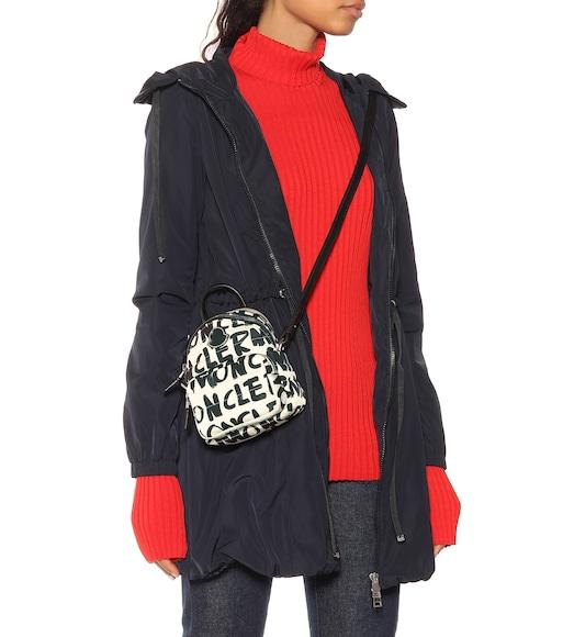 2fe45e7f5d8 Moncler - Kilia Small printed backpack - mytheresa.com