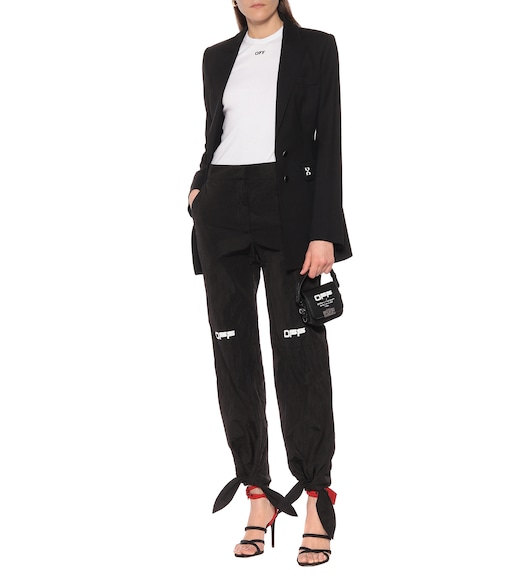 Off-White - Nylon trackpants - mytheresa.com