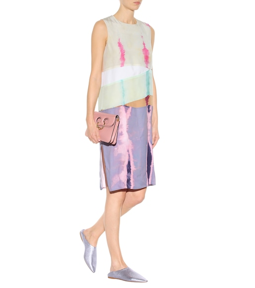 Acne Studios - Sagita sleeveless silk dress - mytheresa.com