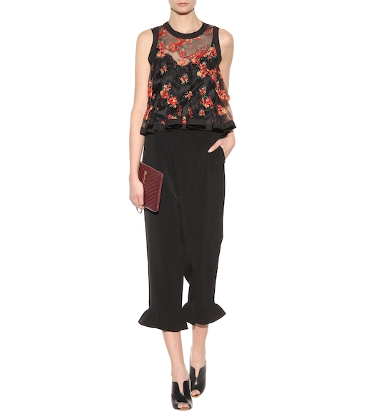 Philosophy Di Lorenzo Serafini - Embroidered top - mytheresa.com