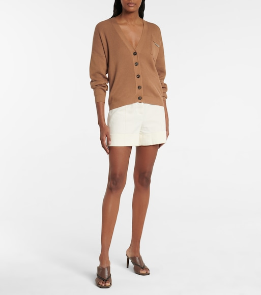 Brunello Cucinelli - Ribbed-knit cotton cardigan - mytheresa.com