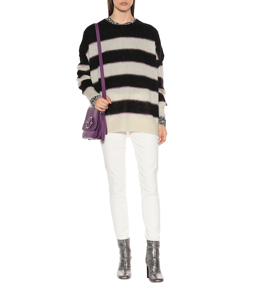 Isabel Marant, Étoile - Reece striped mohair-blend sweater - mytheresa.com