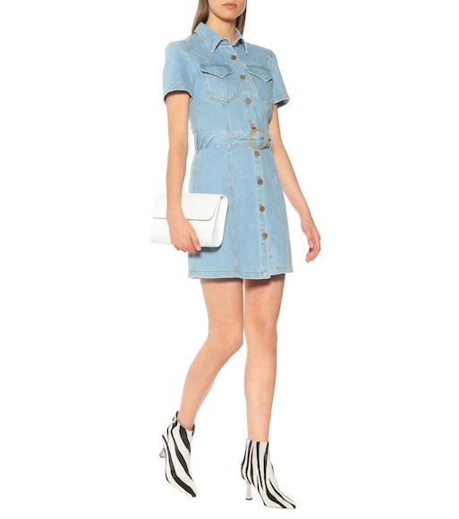 Nanushka - Mora denim minidress - mytheresa.com
