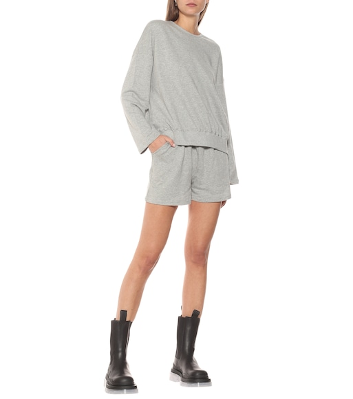 Frankie Shop - Jaimie sweatshirt and shorts set - mytheresa.com