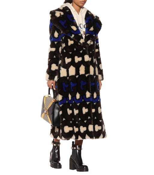 Gucci - Faux fur coat - mytheresa.com