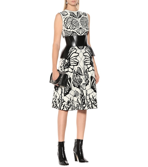 Alexander McQueen - Jacquard knit dress - mytheresa.com