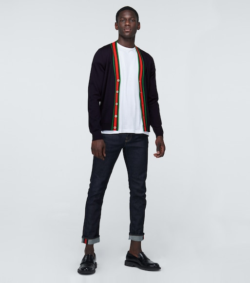 Gucci - Knitted wool cardigan - mytheresa.com